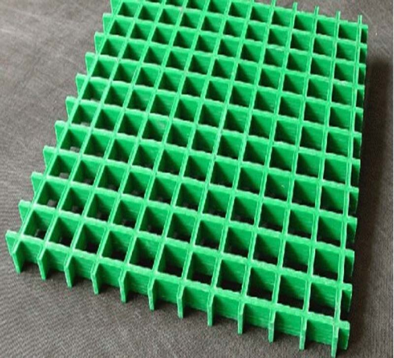 Vinyl ester resin molded fiberglass grating