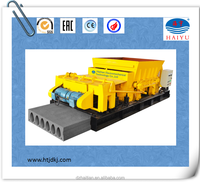 prestressed floor roof slab slipforming equipment/ concrete hollow core slab making machine