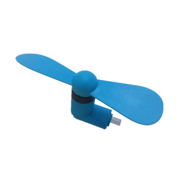 Customized super mini assembled USB fan for promotional gifts