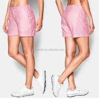 Chinese Plus Size Clothing Manufacturers Women's Polyester/Elastane Golf Shorts Pants Golf Trousers Wholesale