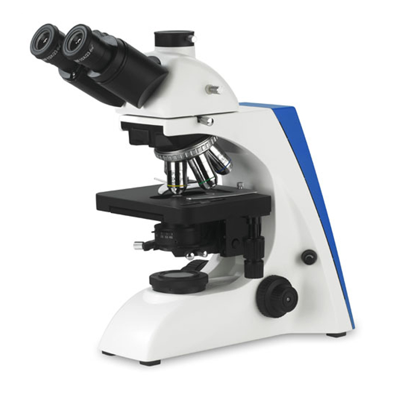 Led cold light biological digital trinocular electronic microscope