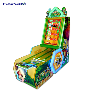 Coin Operated Electronic Lottery Redemption Arcade Video Games Shooting  Ball Bowling Game Machine
