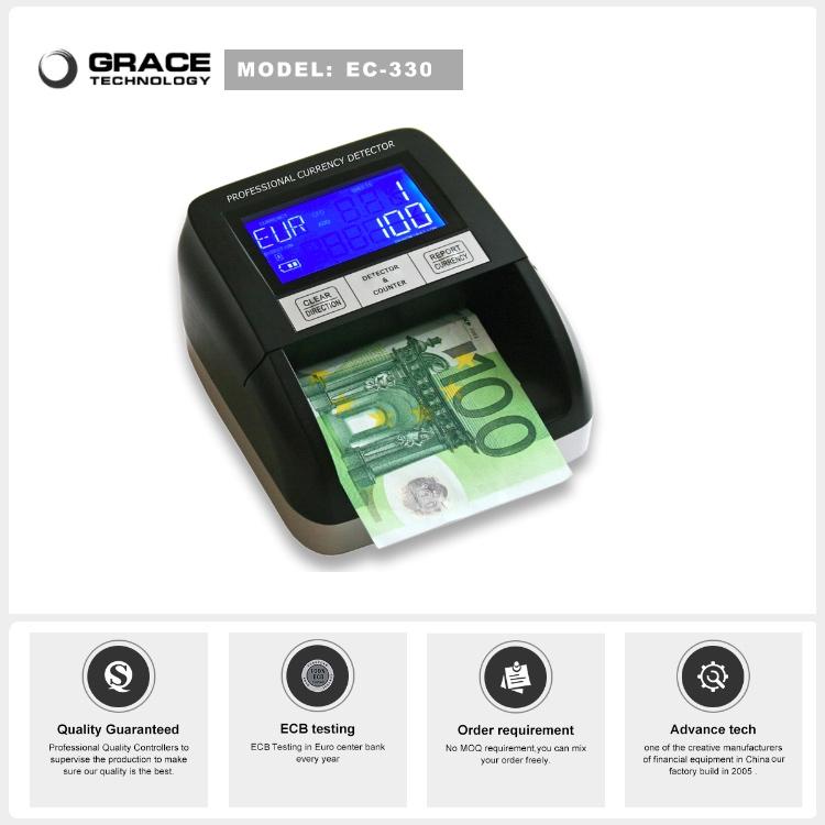 Usd Eur Gbp Sek False Counterfeit Money Detector Machine ...