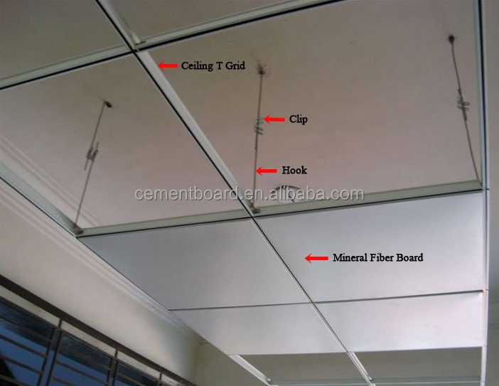 Mineral Wool Sound Absorption Board With Ce Certification