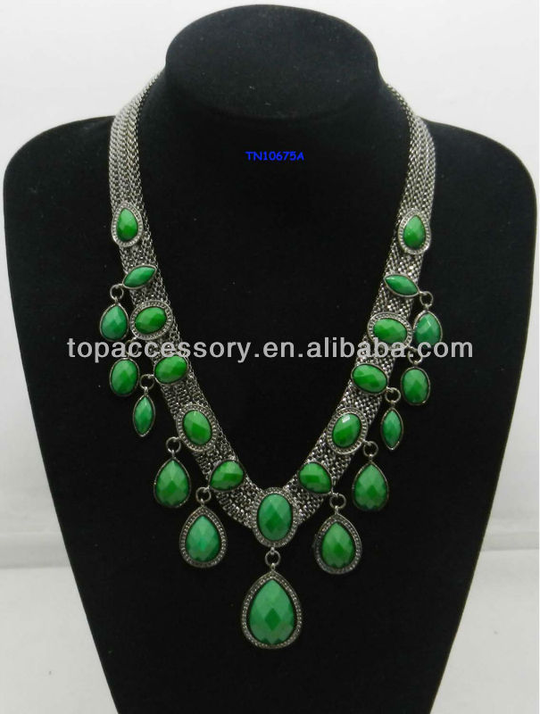 Ladies Especially Five Circle Fashion Necklace 2012