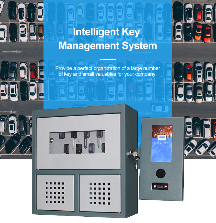 Digital key management safe electronic key control cabinet systems
