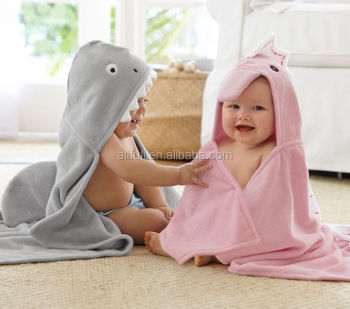 b7a9895680 Wholesale China baby wahser organic cotton baby hooded towel with  embroidered logo