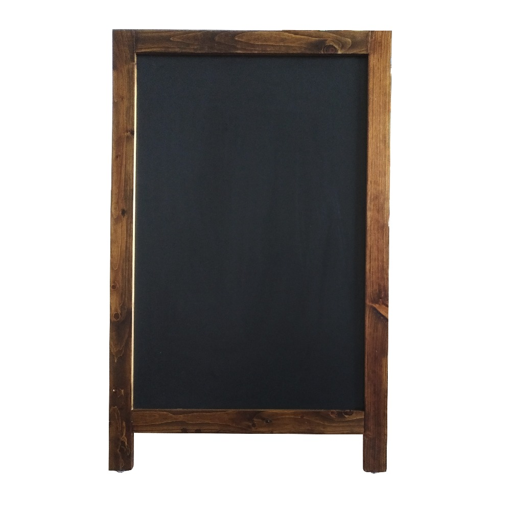 Magnetic Steel A-frame Chalkboard with Logo