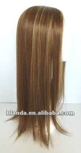 blanda hot sale mono top full lace human hair wig from directly factory