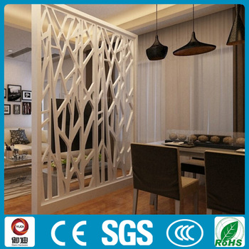 Laser Cut Decorative Hotel Metal Living Room Partition Screen ...