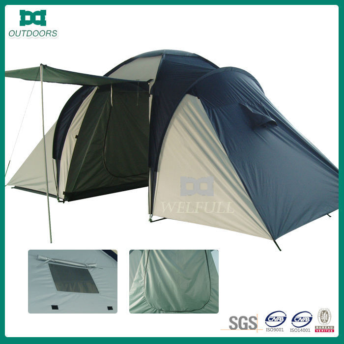 4 person waterproof family camping tent sale