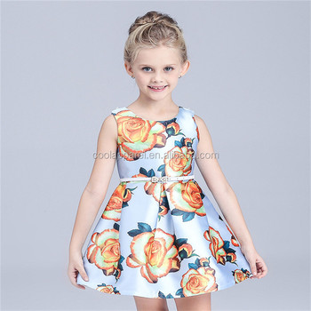 367ad10fecb Western Country Baby Girls Dresses Wear Kids Cotton India 2017 - Buy ...