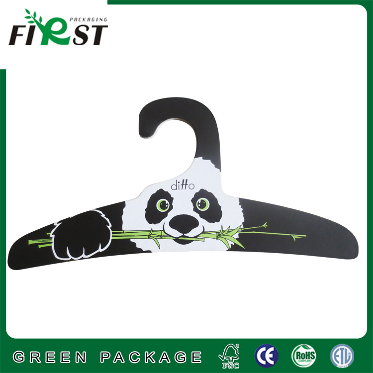 Fashionable lovely pet hanger/paper clothes hangers/paper pet hanger