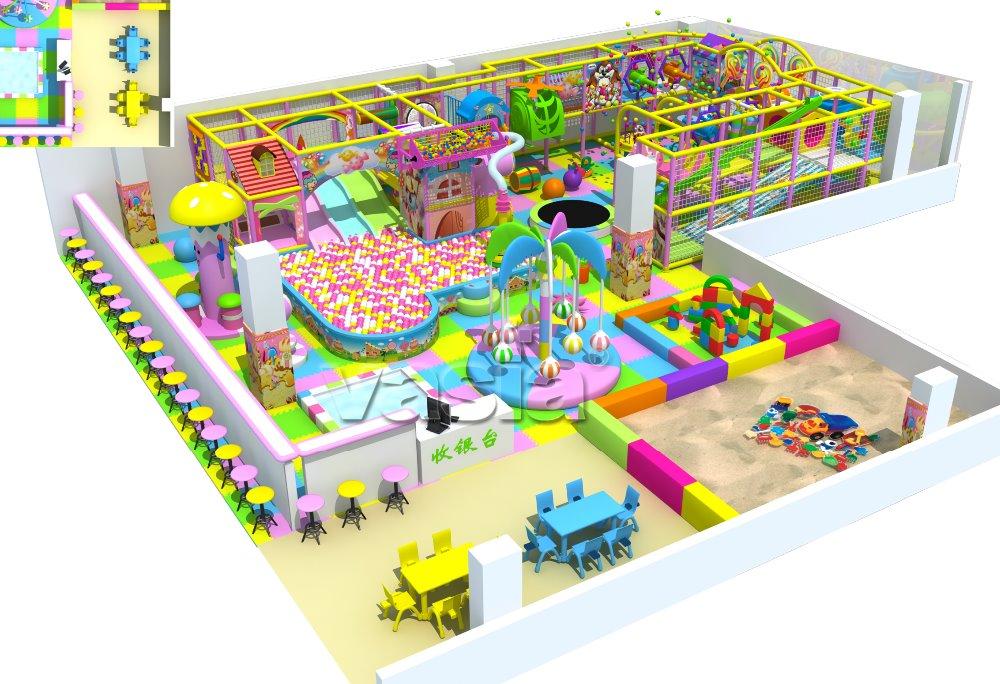 Beroemd Kinderen Indoor Speeltuin Voor Thuis/commerciële Indoor Speeltuin @ZE96