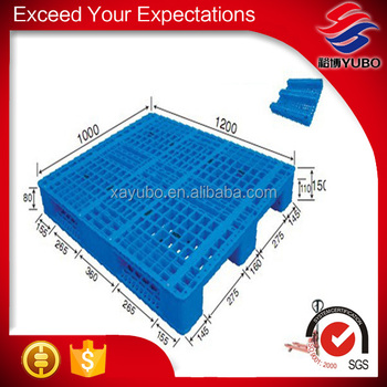 Cheap logistics plastic pallet, good quality hdpe plastic solid deck pallet for sale