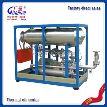 Industrial Electric Thermal Oil Heater For Non-woven Hot Rolling ...