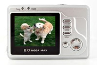 winait wholesale compact digital camera 8.0Mega pixel Digital camera 4X digital zoom with DC-103