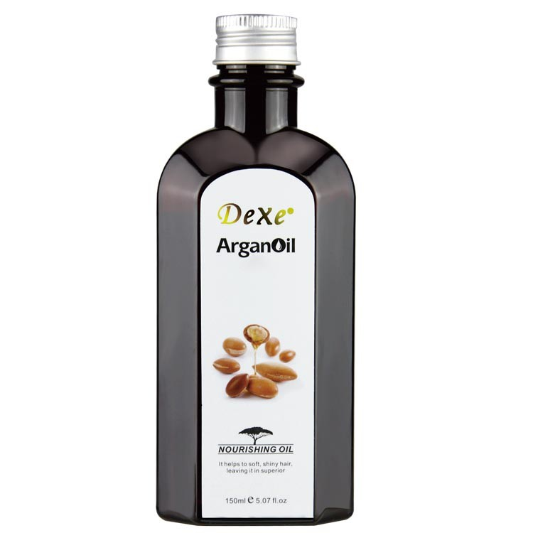 2016 hot sale top Dexe/ New Cosmetic Organic Argan Oil Series for hair and body / for women and men