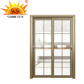 Residential Aluminum Double Front Entry Alloy Doors Exterior Prices