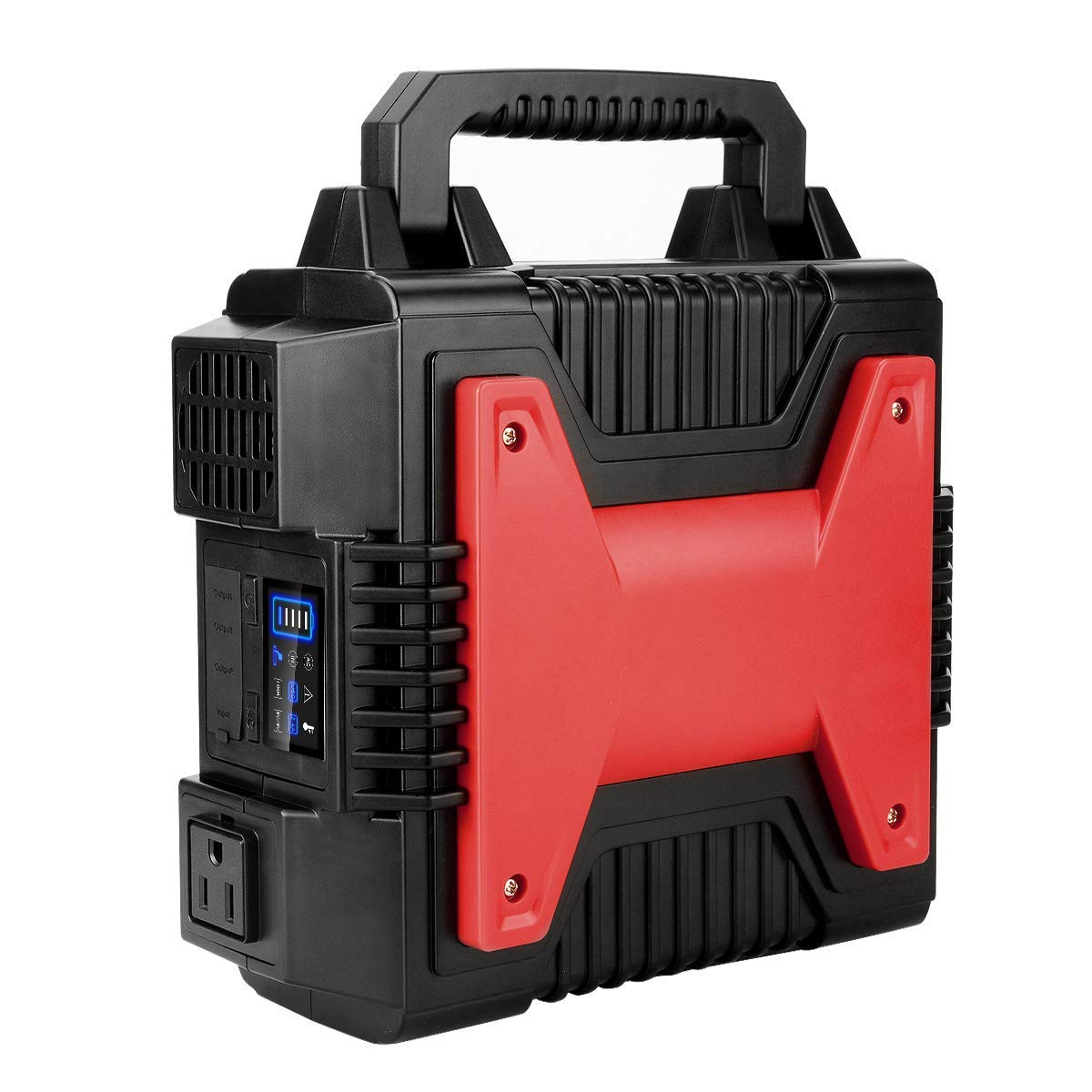 Solar Generator Power Inverter 200Wh/54000Mah AC Power Bank Portable Charger Power Station with Dual 110V AC Outlet, 1 DC Outlet, Dual USB Portsfor Camping, Travel, CPAP, Emergency Backup, Home