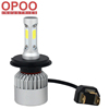 New Auto Parts 9-32V 6500K 8000LM COB 60W H4 S2 Car Led Headlight