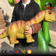 Low Price light weight walking dinosaur puppet with great price
