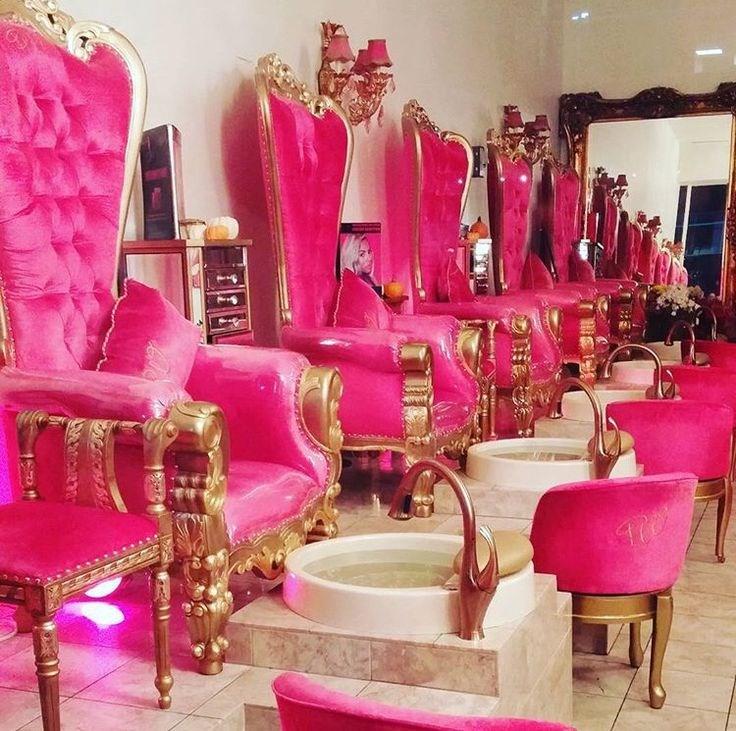 Magnificent Bomacy Best Price Pink Throne Kid Fabric Pedicure Spa Chair Inzonedesignstudio Interior Chair Design Inzonedesignstudiocom