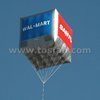 Promotional cheap inflatable square balloon inflatable cube balloon F2052