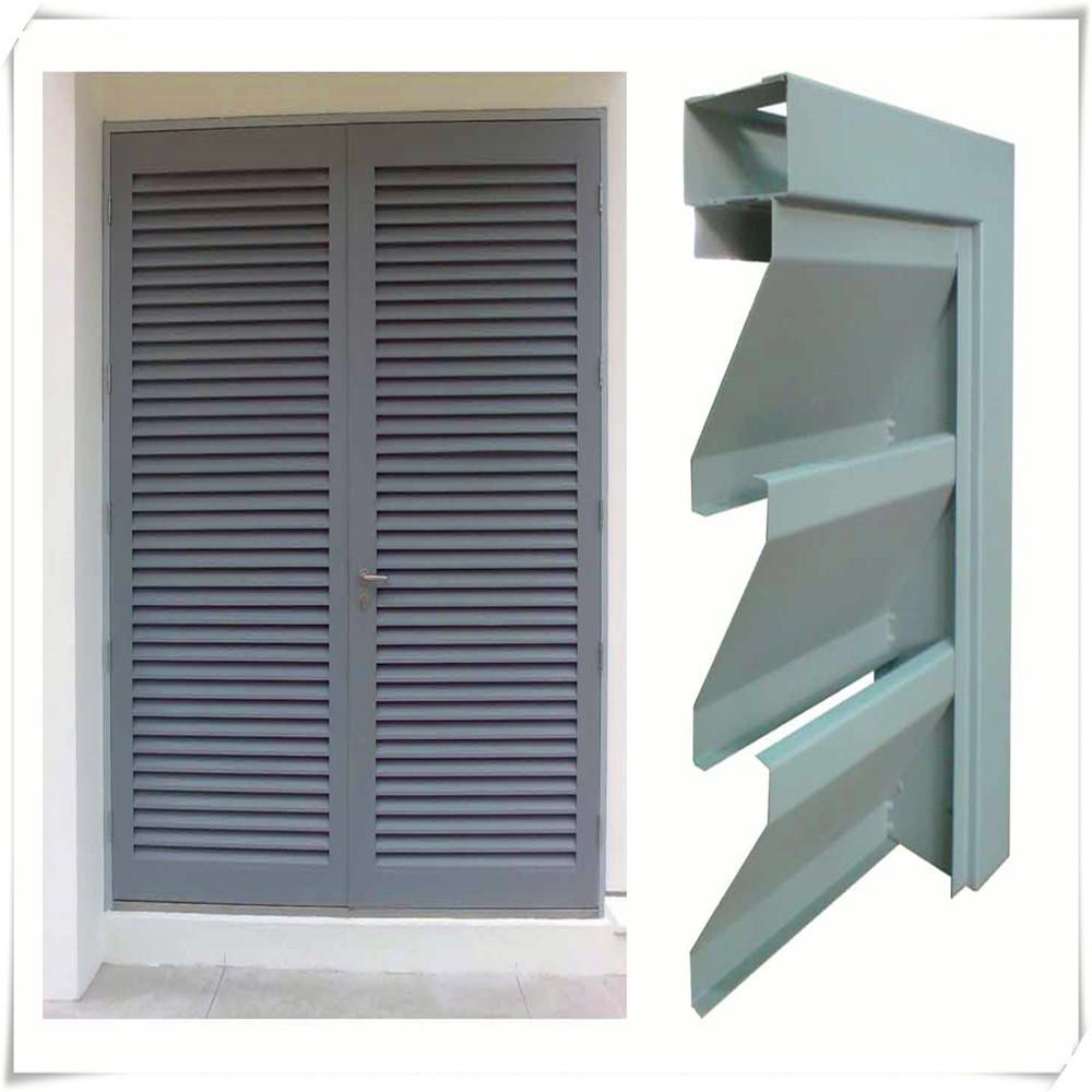Aluminio exterior persiana puerta puertas identificaci n - Puertas de persiana ...