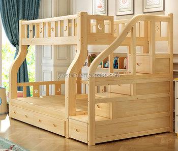 new design kids bunk bed solid wood double decker bed for kids buy rh alibaba com
