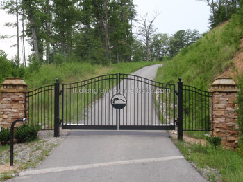 Metal Security Gate/ Luxury Wrought Iron Garden Door Outdoor/courtyard Gate  Iron Craft Main