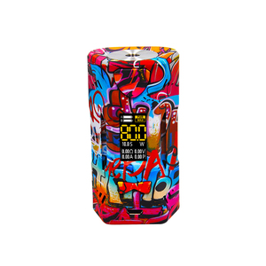 color screen vapor box mod sbody double 18650 battery e cigarette orca 220 TC vape box mods