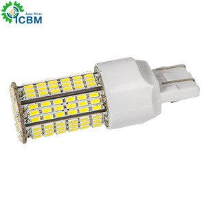 T20 144 smd* 3014 12v9w LED Light Lamp 50W H4 H7 H8 H11 9005 9006 T20 1156 1157 Auto Replace LED Brake Light