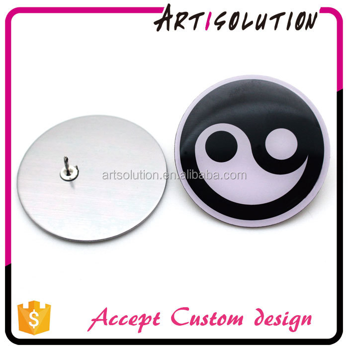 Cheap Price High Quality Chinese Taoism Yin Yang offset printed pin