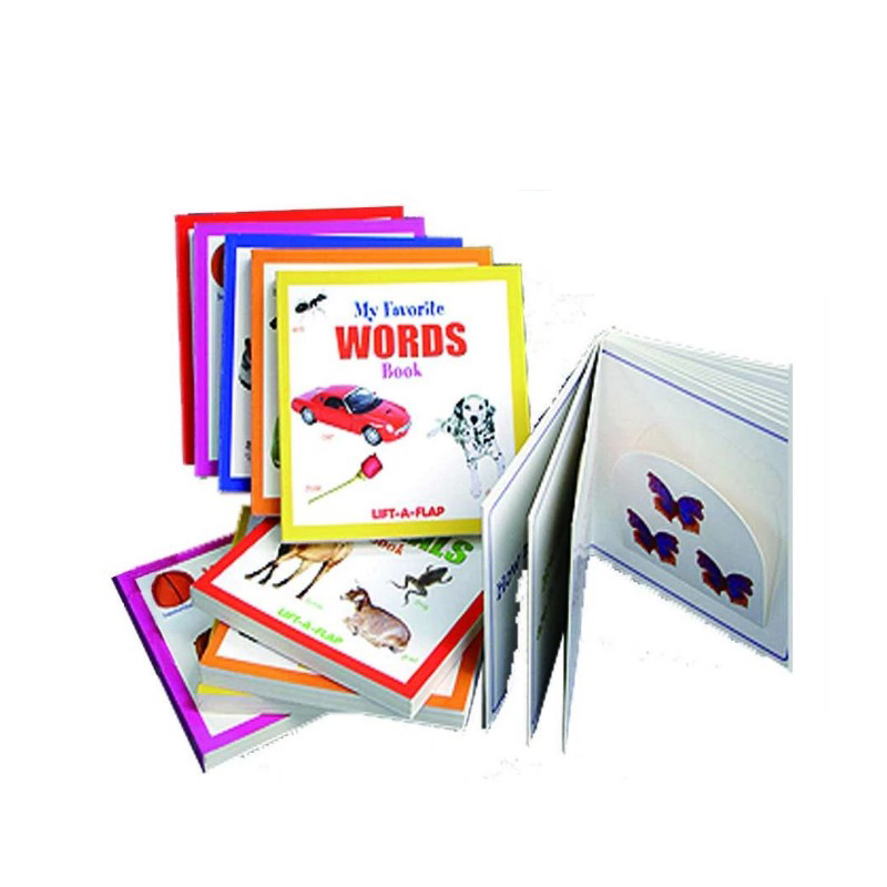 Design personalizado Full Color Printing Pop Up Book