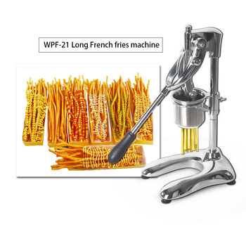 30cm Vertical Manual French Fries Squeezer Long Chips French Fries Machine