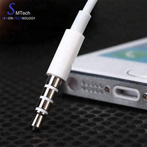 Noise Cancelling Earphone 3.5mm headset for Apple iPhone 6 6plus earphones