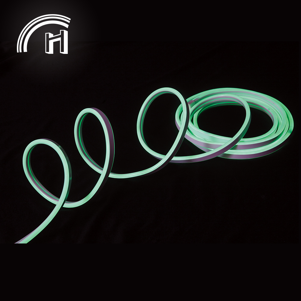 Mini flexible side emitting rgbw led strip light