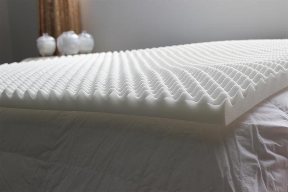 egg crate ventilated memory foam mattress topper