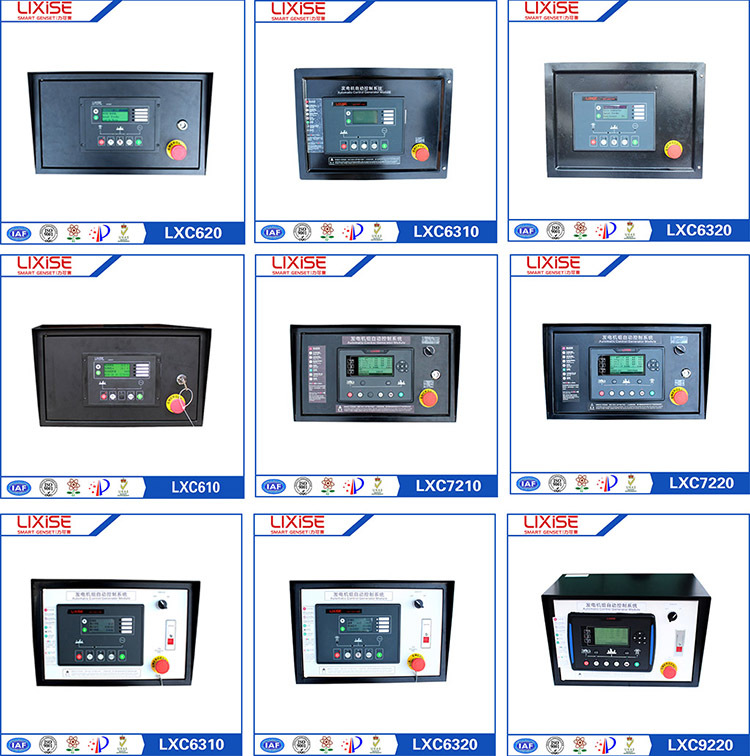 LXC7220 generator electrical control panel board