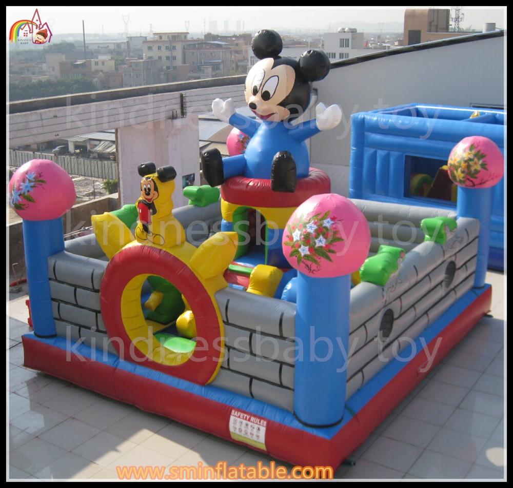 mickey mouse ville de plaisir dora dreamland jeux gonflables jouets gonflables vendre. Black Bedroom Furniture Sets. Home Design Ideas