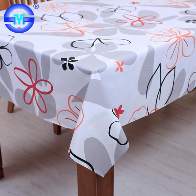 Accept Custom Order Cream Large Round Pvc Tablecloths Argos