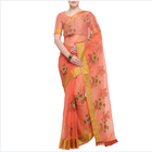 2019 latest design Indian women's saree with blouse