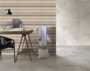 wood look design kitchen ceramic wall tile