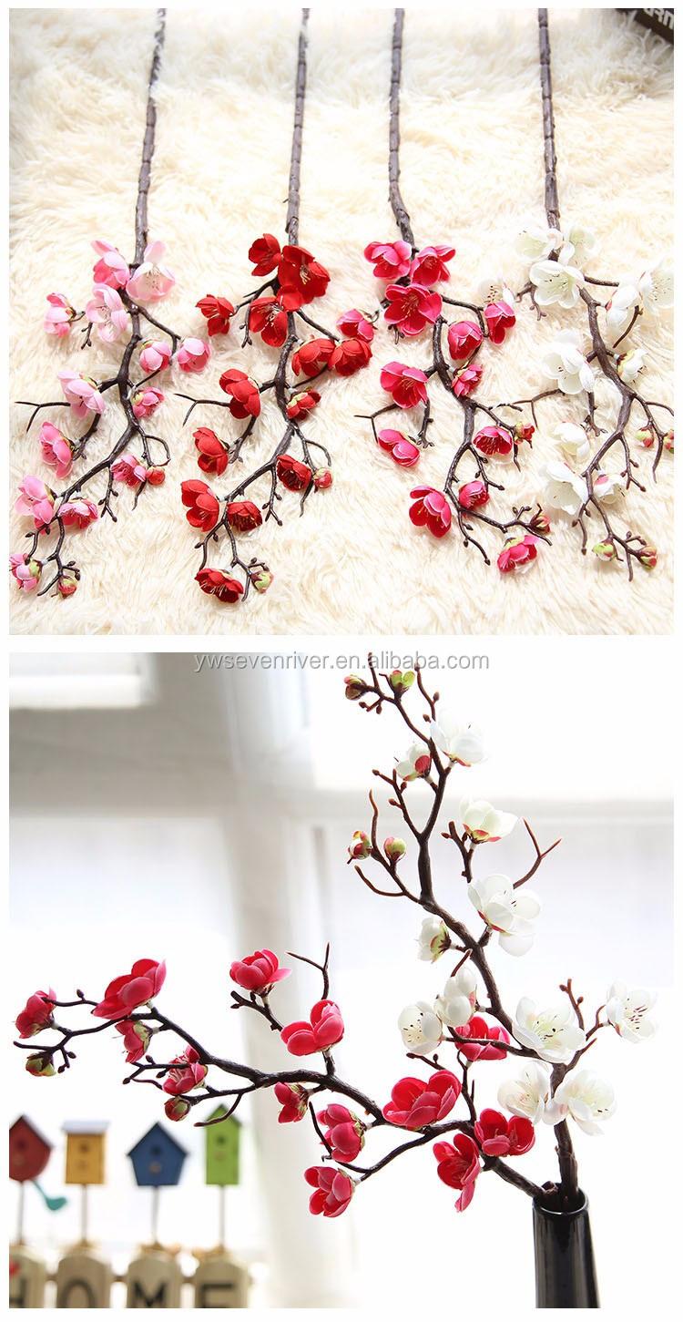 Wholesale Artificial Flowers Home Decoration China Plum Blossom Cherry  Blossom Flowers   Buy China Flowers,Plum Blossom,Cherry Blossom Product on  ...