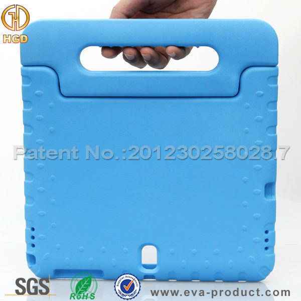 Ultra light weight eva foam kid proof case cover for samsung galaxy tab s 10.5 t800