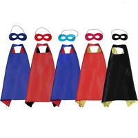 halloween capes for kids costume superhero cape and mask