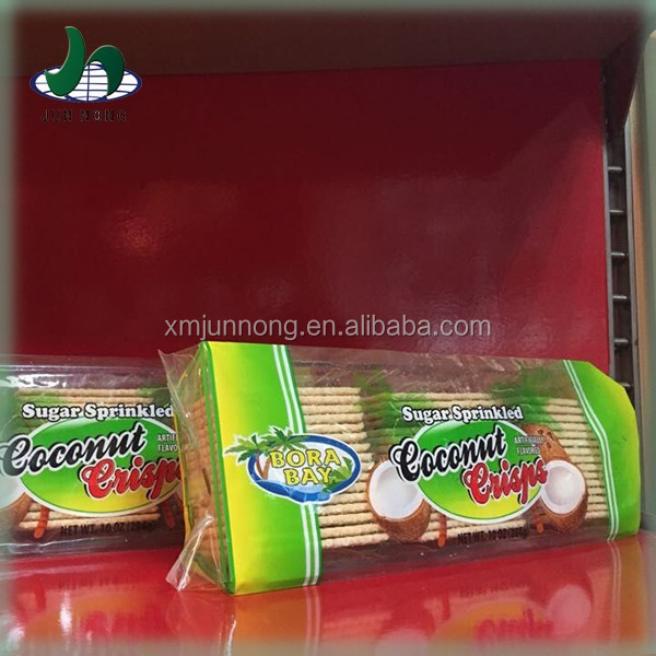 Easy to save coconut sandwich biscuit