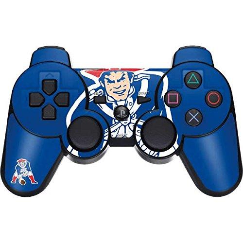NFL New England Patriots PS3 Dual Shock wireless controller Skin - New England Patriots Retro Logo Vinyl Decal Skin For Your PS3 Dual Shock wireless controller