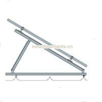Adjustable Triangle Solar Mounting brackets for solar racking system